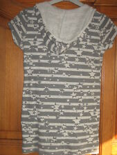 LILI GIRL Sweat capuche taille 14 ans gris. TBE
