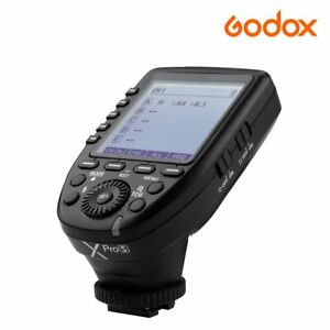 Godox Xpro-S 2.4G TTL LCD Camera Flash Speedlite Transmitter Trigger For Sony