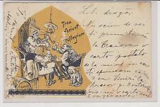 (7-A) Ansichtskarte Studentika 1898 Verlag C. Brandes, Stuttgart ohne BM