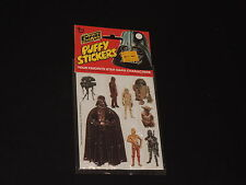 STAR WARS THE EMPIRE STRIKES BACK PUFFY STICKERS DARTH VADER