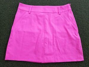 PUMA Golf Woman's + 10 + POLY + L Spandex Inner Shorts + Pink Skort + gw00494