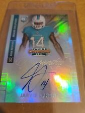 2014 Panini Contenders Playoff Ticket #220 J Landry Rookie on card Auto #43/49