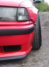 FENDER FLARES BMW E36 2x FRONT ABS PLASTIC DRIFT WHEEL ARCHES OVERFENDERS WIDE