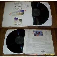 Dominig Bouchaud – Harpe Celtique - Vibrations LP Folk Celtique NM