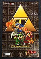 Pokemon Dungeon  / Zelda Tri Force Heroes Promo Poster Nintendo 11 x 17 3DS