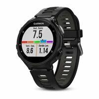 Garmin Forerunner 735XT Black and Gray Multisport GPS Running Watch 010-01614-00
