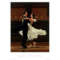 """The Perfectionist Rare size 16/"""" x 12/"""" mounted print Jack Vettriano"""