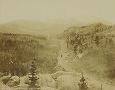 William Henry Jackson: Crossing Timberline, um 1875