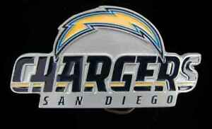 SAN DIEGO CHARGERS LOGO BELT BUCKLE BUCKLES NEW!