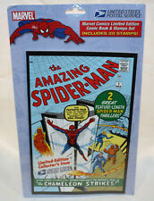 US Postal Service Spiderman L/E Comic Book & Stamp Set! FREE SHIPPPING