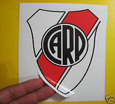 """BEST PRICE! LOT OF 10 SOCCER DECAL / STICKER RIVER PLATE ARGENTINA 5"""" X 6"""""""