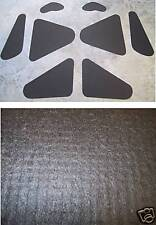 1958 - 1960 FORD THUNDERBIRD WAFFLED TRUNK LID INSULATION KIT 8 PIECES