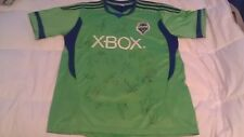 SEATTLE SOUNDERS SIGNED 2012 REPLICA SOCCER JERSEY