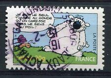 FRANCE 2006, timbre 3961, AUTOADHESIF n° 94, CHIEN CUBITUS, oblitéré