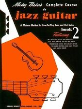 Mickey Baker's Complete Course In Jazz Guitar: Book 2-ExLibrary