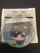 Black Butler Badge Ciel Phantomhive Book of Atlantic FujiQ Highland Limited F/S