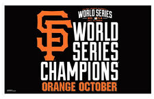 San Francisco Giants 2014 WORLD SERIES CHAMPIONS 3-by-5-foot Huge MLB Team FLAG
