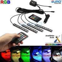Full RGB 7Color-change LED Interior Car Underglow Dash Foot Floor  Accent Light