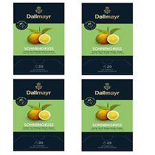 Sonnengruss grüner Tee 4 x 20 Pyramiden x 2,5g Dallmayr