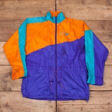 """Mens Vintage Nike 1990s Purple Sports Windbreaker Jacket Medium 40"""" R8420"""