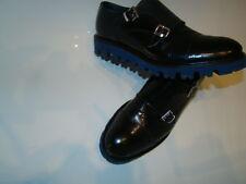 Zapatos Para Hombre Cuero Negro, tamaño 8