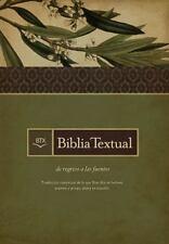 Biblia Textual   Spanish Edition / Edicion Espanol -  Hardcover / Tapa Dura