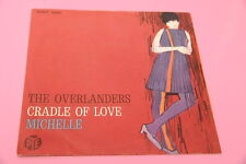 "SOLO COPERTINA THE OVERLANDERS 7"" MICHELLE (BEATLES) ORIG ITALY 1965 NM !!!!!!!!"