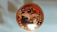 Upper Peninsula Dollar Coin/Token/Souvenir/Collectible/Lucky Yooper .999 Copper