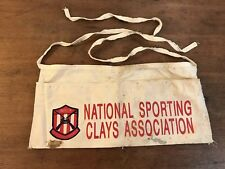 NSCA National Sporting Clays Ass. Cotton Tool Belt Nail Pouch Apron Bag (W1)