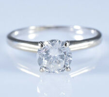1.02 Ct. Round Brilliant-cut Diamond Solitaire Engagement Ring 14k Yellow Gold