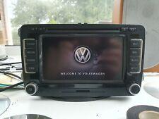 VW SAT NAV RNS 510 SDHC HDD DVD V16 MAP + CODE
