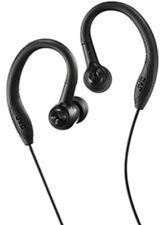 JVC HAEC10B Sports Sweat Proof Ear Clip Earbuds Black