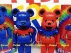 Medicom Be@rbrick Grateful Dancing Bears 400% Dance Bearbrick Set 2pcs Halloween