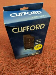 Clifford D9857X 2-way 5 Button LED Remote Start/RF Kit for DS3/3+ DEI Security