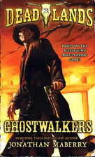 Jonathan Maberry DEADLANDS: GHOSTWALKERS Signed First Printing