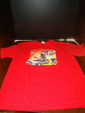 Marty McPrime Time Traveler  T-Shirt - Large - Alstyle Apparel - Used - Red