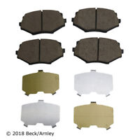 Disc Brake Pad Set Front Beck//Arnley 085-1423 fits 90-93 Mazda Miata