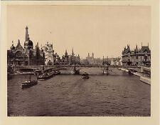 Paris Exposition Universelle 1900 Pont Alexandre III Tirage Photomécanique