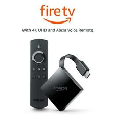 Amazon All-New Fire TV 4K Ultra HD Alexa Voice Remote Streaming Media Player-NEW