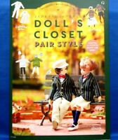 Doll's Closet Pair Style & for Boys Dolls /Japanese Handmade Clothes Book  New!