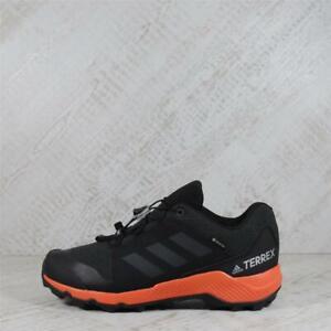 Infant Adidas Terrex GTX Goretex Black/Orange Trainers (CMF16) RRP £59.99
