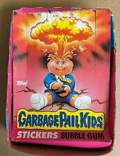Garbage Pail Kids Series 1 Used wax BOX ONLY 1985 Topps used condition
