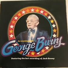 """GEORGE BURNS - An Evening With 2 x 12 """" Vinyl Records"""