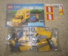 LEGO DELIVERY TRUCK with Minifigure - NEW - 60097 City Square