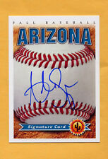 2014 Arizona Fall League AUTO card ADRIAN SAMPSON Pirates