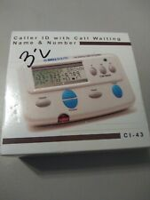 New listing Bellsouth Caller Id with Call Waiting Ci 43 - 90 Name & Numbers New open box