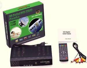 DECODER DIGITALE FULL HD  COMBO DIGITALE TERRESTRE E SATELLITARE DVB-T2/S2