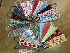 Face Mask / Covering, Washable, Handmade , Double sided, Cotton, Various Designs