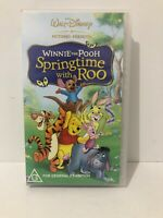 Disney - Winnie The Pooh, Springtime with Roo  - VHS New & Sealed