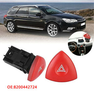 For Renault Laguna Nissan Primastar Vauxhall Vivaro Hazard Warning Light Switch